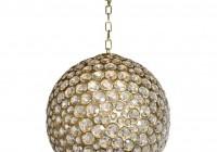 glass ball chandelier modern
