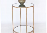 Glass Bedroom Side Tables