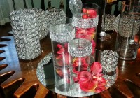 Glass Cylinder Vases With Bling