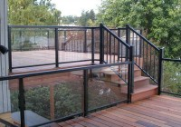 Glass Deck Railing Systems Calgary