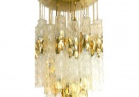 Gold Chandelier Candle Holder