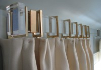 Gold Curtain Rod Nursery