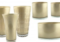 Gold Flower Vases Wholesale