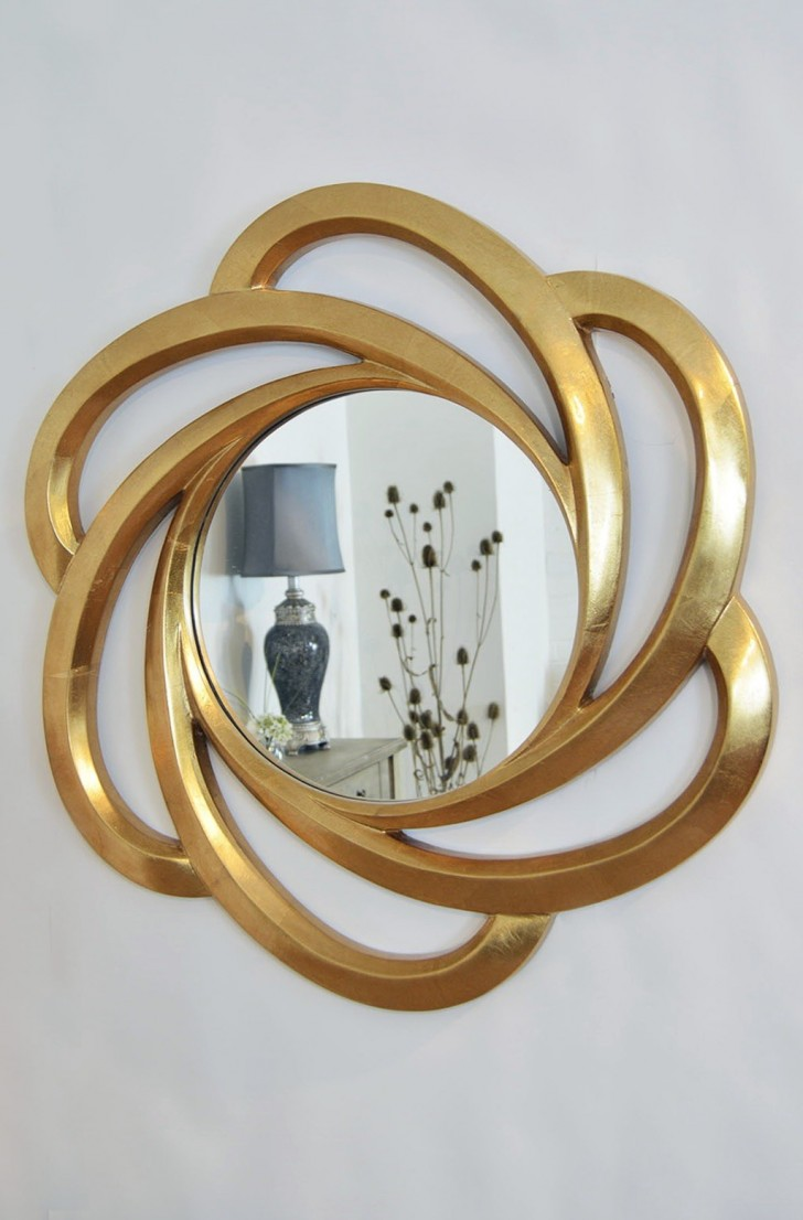 Permalink to Gold Wall Mirror Uk