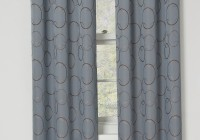 Gray Blackout Curtains Grommet