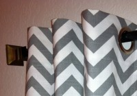 Grey And White Blackout Curtains