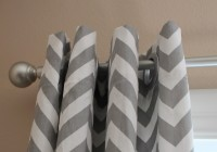 Grey And White Chevron Curtains