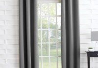 Grey Blackout Curtains Eyelet