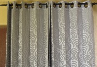 Grey Patterned Curtains Canada