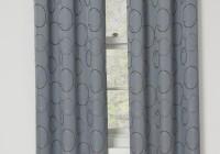 Grommet Blackout Curtains Grey