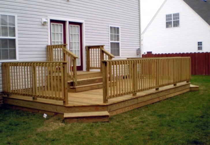 Permalink to Ground Level Decks Wood Deck