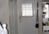 half door panel curtains