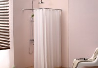 Half Round Shower Curtain Rod