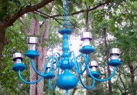 Hanging A Chandelier Outside