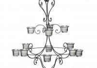 Hanging Chandelier Candle Holder