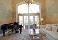 High Ceiling Living Room Chandelier