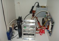 Home Network Closet Cooling