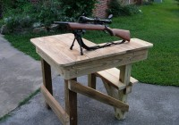 Homemade Portable Shooting Bench Plans