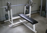 Homemade Weight Lifting Bench