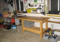 Homemade Workbench Ideas