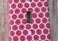 Hot Pink Polka Dot Curtains