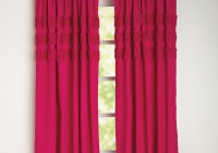 Hot Pink Window Curtains