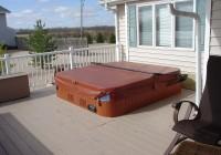 Hot Tub On Deck Ideas