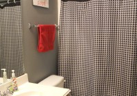 Houndstooth Curtains Black And White
