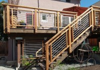 How Do I Install Steel Cable Deck Railings