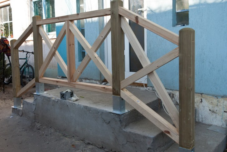 Permalink to How To Build A Deck Railing Plans