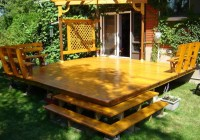 How To Build A Freestanding Deck With A Roof