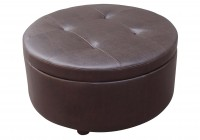 How To Make A Round Ottoman With Storage