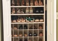 How To Make Shoe Rack For Closet