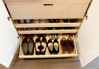 How To Make Wooden Shoe Racks For Closets