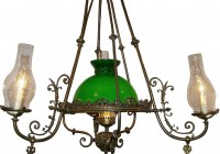 Hurricane Chandelier Glass Shades