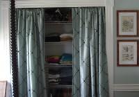Ideas For Closet Doors Curtain