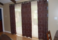 Ideas For Curtains On Sliding Glass Doors