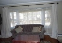 ikea curtain rods for bay windows