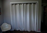 Ikea Panel Curtains As Closet Doors