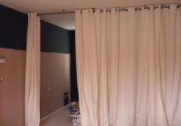 Ikea Panel Curtains Room Divider