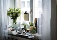 ikea white sheer curtains