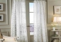 ikea white tab top curtains