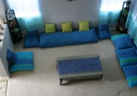 Indian Style Floor Cushions
