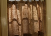 Inside Mount Cafe Curtain Rod