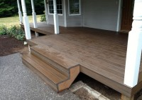 Installing Composite Decking On Stairs