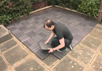 Installing Composite Decking Over Concrete Patio