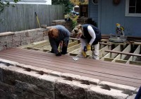 Installing Trex Decking With Screws