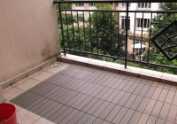 Interlocking Deck Tiles Installation