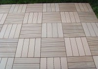 Interlocking Wood Decking Tiles