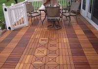 Ipe Wood Decking Tiles